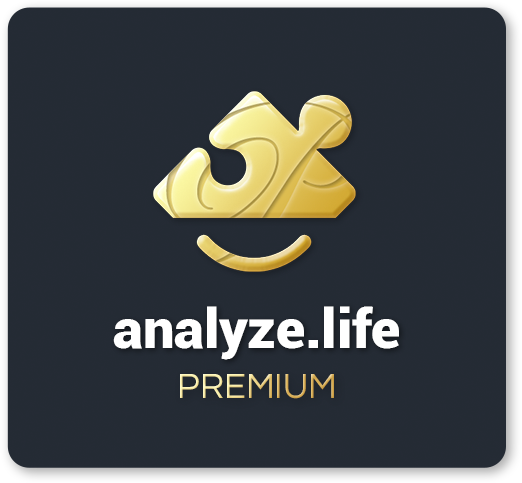 analyze.life premium logo